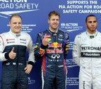 Vettel saldrá desde la 'pole'; Alonso, desde la sexta plaza