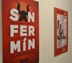 3.400 personas visitan la exposición de los carteles de San Fermín 2013