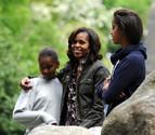 La esposa y las hijas de Obama, de excursión en Irlanda
