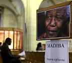 Mandela afronta su sexto día en estado crítico