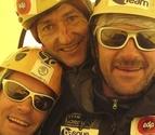 Iñurrategi, Juan Vallejo y Mikel Zabalza, atascados en el Paiju Peak