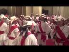 Los danzantes de San Lorenzo homenajean a San Fermín