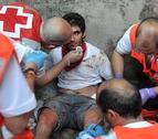 Dados de alta 16 de los 23 heridos en el séptimo encierro