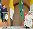 Rousseff propone una alianza al Papa en la lucha contra la desigualdad