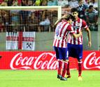 Diego Costa le da la victoria a un Atlético que no fue superior