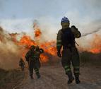 Estabilizado el incendio en Cáceres mientras siguen activos dos en Orense