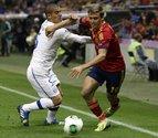Jesús Navas salva a España con un gol en el descuento