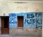 El Gobierno condena las pintadas de Etxarri Aranatz y Alsasua