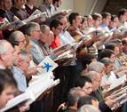 Unos 170 cantantes aficionados con la OSN en Baluarte