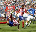 El Atlético hace pleno ante el Almería: cuatro de cuatro