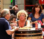 Los bares cerrarán más tarde en  San Fermín de Aldapa