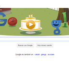 Google cumple su decimoquinto cumpleaños