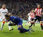 La reacción final permite al Athletic empatar y mantenerse en Europa