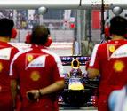 Alonso intentará salvar la primera 'bola de partido' de Vettel en Japón