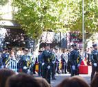 La Guardia Civil celebra su día en Pamplona con un desfile