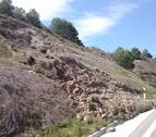 Se inicia la reparación de carreteras de Funes y Sartaguda
