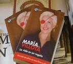 Buena acogida en Pamplona del libro de María de Villota