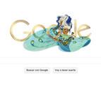 Google homenajea a Celia Cruz