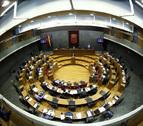 Partidos políticos y crisis institucional, a debate en el Parlamento Navarro