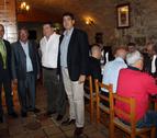 Homenaje de las sociedades gastronómicas a Enrique Castel-Ruiz