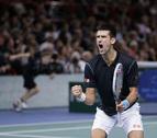 Djokovic gana en Bercy tras derrotar en la final a Ferrer