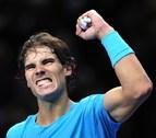 Nadal vence a Ferrer en la Copa de Maestros y afianza su número uno
