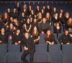El Coro Juvenil del Orfeón Pamplonés, este domingo en Etxarri Aranatz
