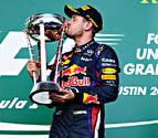 Vettel logró su octavo triunfo seguido, algo inédito hasta ahora