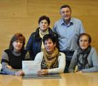 2.080 euros recaudados en el Día de Ansoáin, para el Banco de Alimentos local