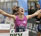 La gesta maratoniana de Estela Navascués