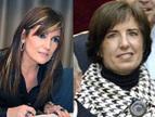 Laura Sandúa y María Puy Maestu, empresaria y directiva de 2013