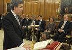 Juan Manuel Fernández jura ante el Rey como vocal del CGPJ