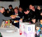 Mendigorría celebró su 'día de la zorra' con migas y chistorra