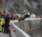 Cuatro muertos de una misma familia al caer su furgoneta al río en Girona