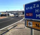 Normalizada la situación del tráfico tras la colisión entre dos vehículos en Noáin
