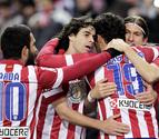 El Atlético deja el liderato a un gol