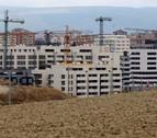 El precio medio de la vivienda nueva cae un 4% en Pamplona