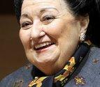 A Montserrat Caballé no le gusta el anuncio de la lotería
