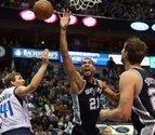 Duncan y Green, demasiado para los Mavericks de Calderón