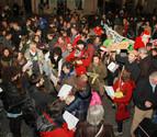 La PAH de la Ribera celebra una mani-fiesta en Tudela