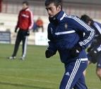 Ariel Núñez, presente en la vuelta al trabajo de Osasuna