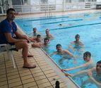 La selección inglesa de waterpolo, en Pamplona con el WP Navarra