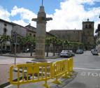 La Herriko Plaza de Lakuntza estará peatonalizada en verano