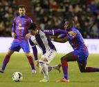 El Valladolid salva un empate ante el Levante