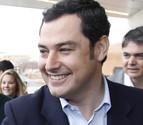 Juan Manuel Moreno busca perfil propio en el PP andaluz