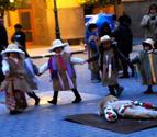 Olite, Larraga, Falces y Tafalla comienzan con el carnaval rural