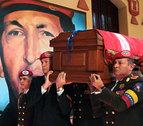 Venezuela homenajea a Hugo Chávez en el primer aniversario de su muerte