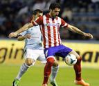 El Atlético adelanta al Barça gracias a Villa