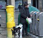 Denunciados seis locales por dejar basura fuera de los contenedores