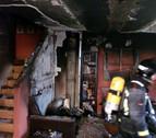 Sofocado un incendio en una vivienda en Olloki